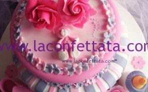 battesimo femmina, torta battesimo