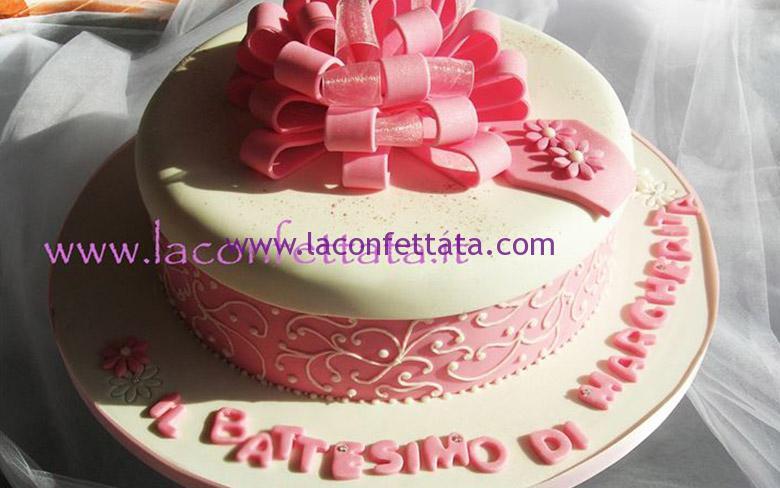 torta per battesimo, torta per battesimo bimba