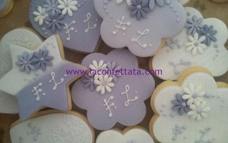 Matrimonio In Glicine : Biscotti matrimonio toni glicine u la confettata