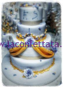 torta per Matrimonio elegante