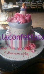 torta battesimo, battesimo elegante