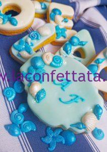 biscotto decorato marinaro