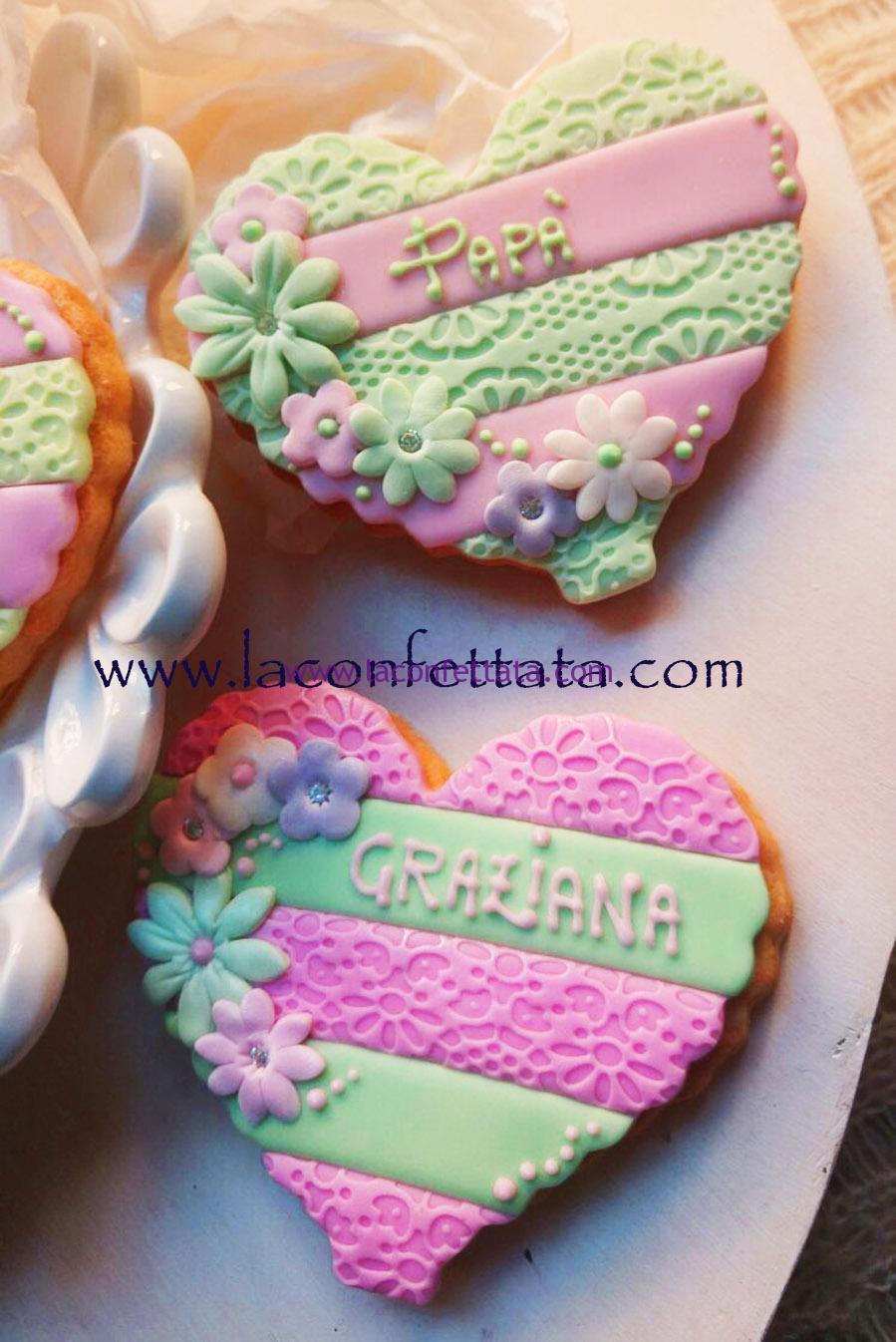 Biscotto segnaposto, biscotto decorato Battesimo, biscotto segnaposto comunione, segnaposto comunione