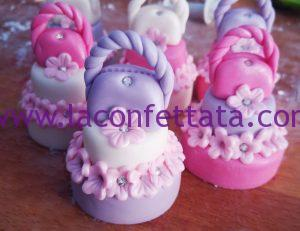 mini cakes bomboniera