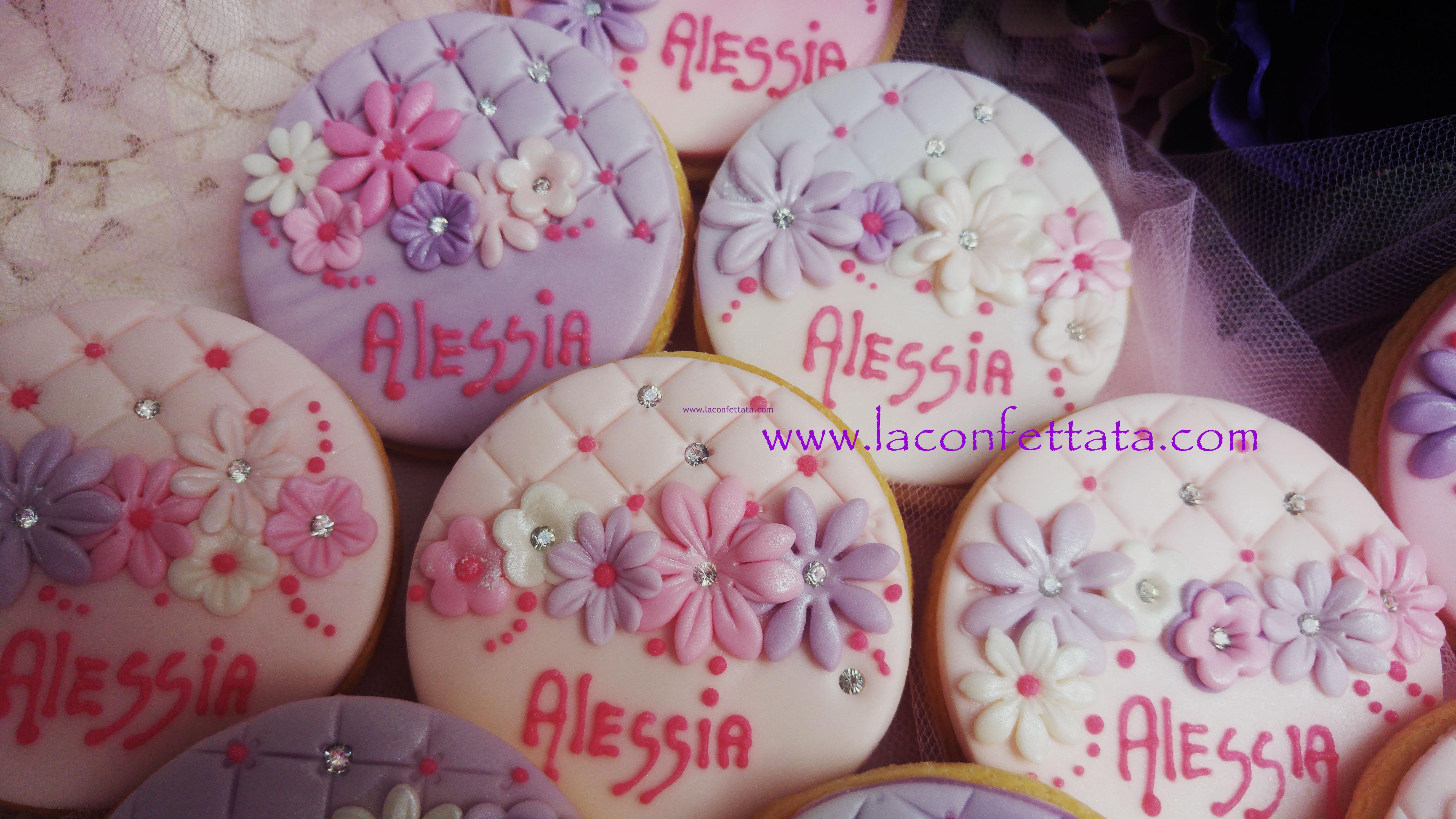 biscotti decorati segnaposto