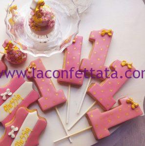 segnaposto biscotto decorato