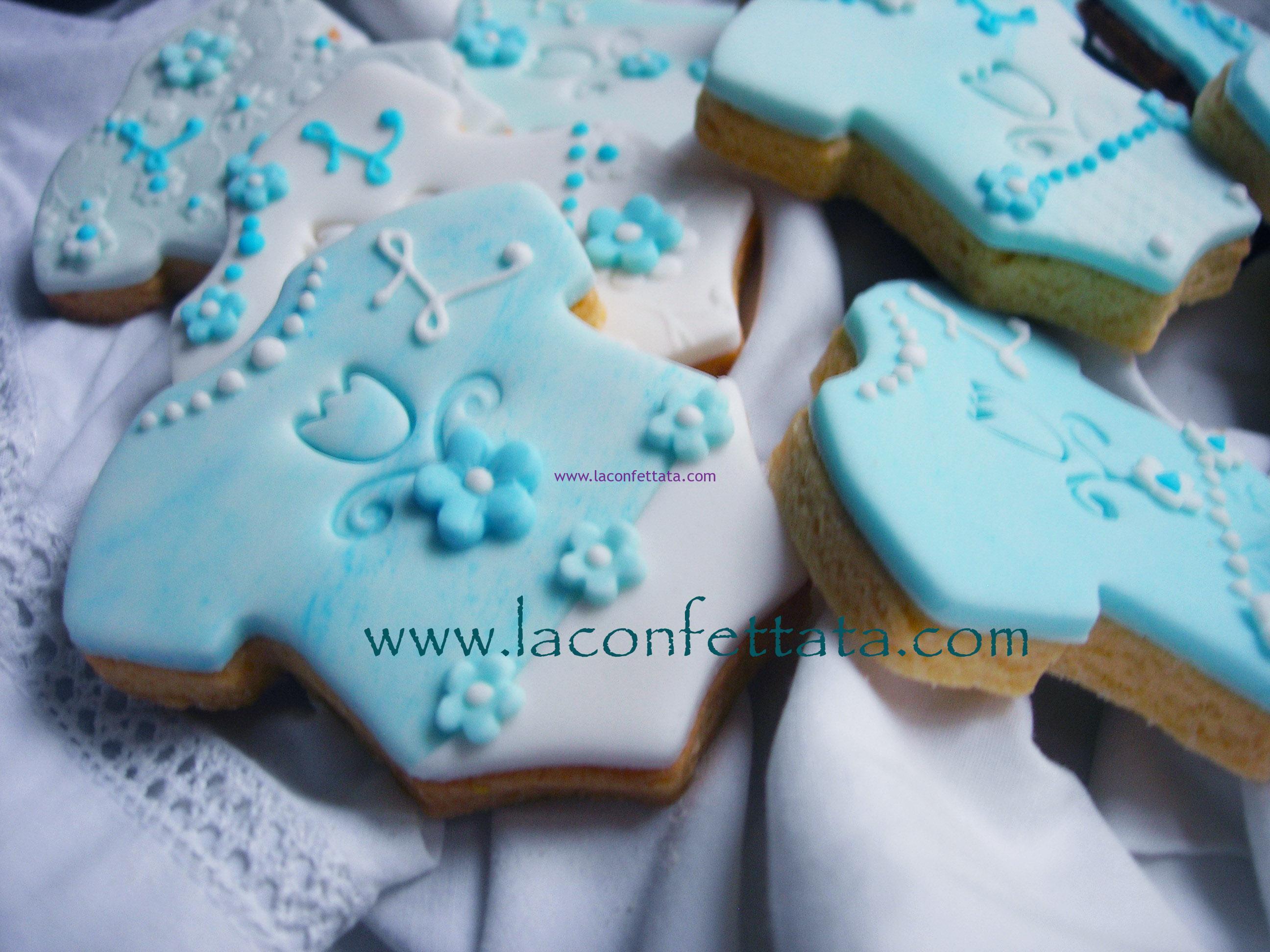 Biscotti segnaposto per Battesimo,