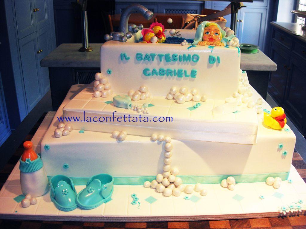 torta battesimo, battesimo bimbo