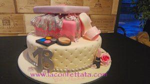 18 anni ragazza, torta con scarpa tacco a spillo, torta 18 anni