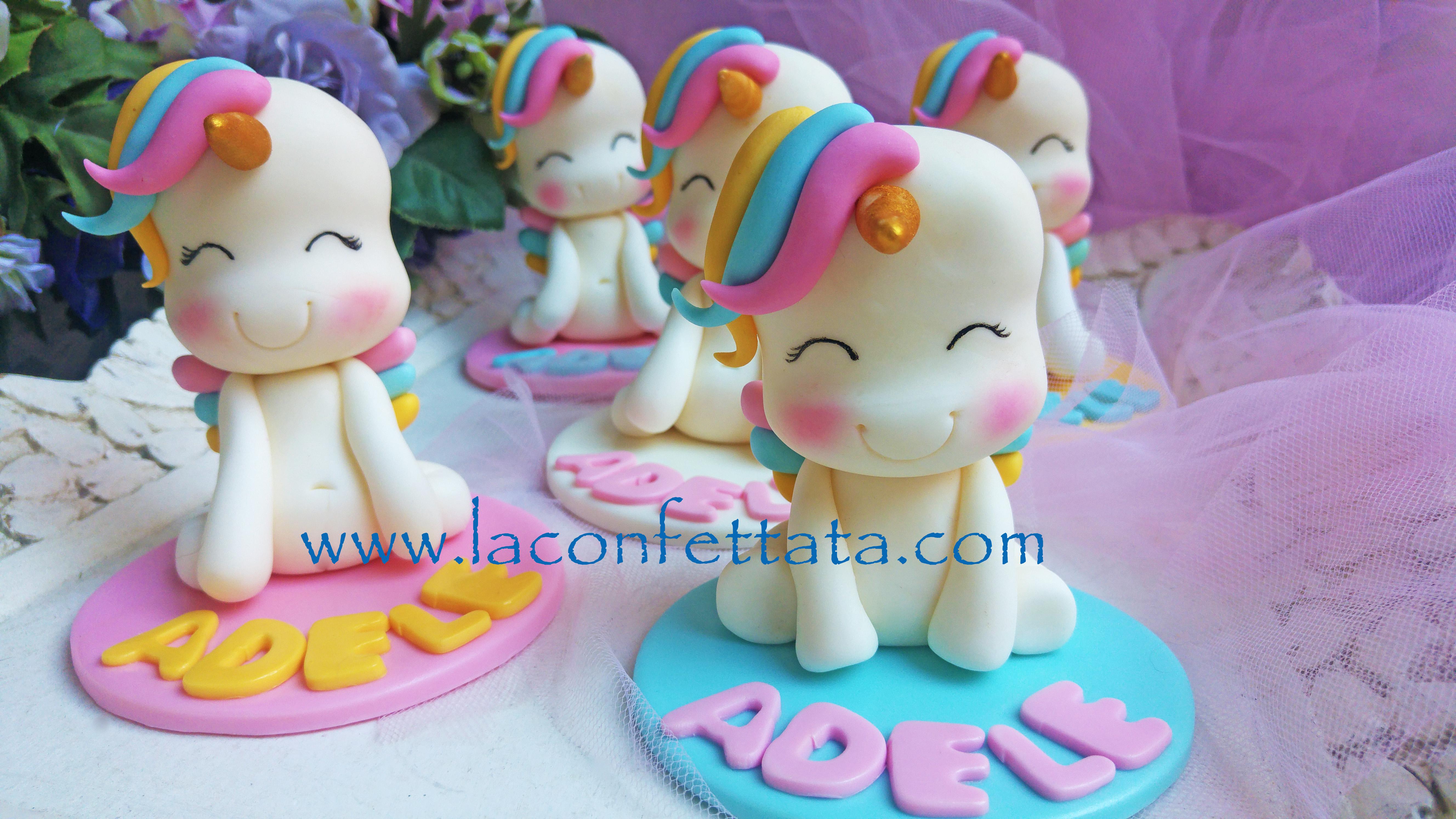 Segnaposto unicorno