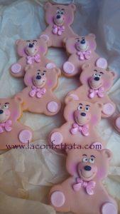biscotti orsetto, biscotto segnaposto orsetto