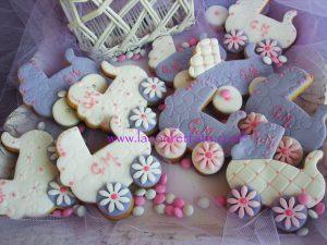 segnaposto battesimo, segnaposto originali, biscotti decorati battesimo