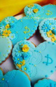 Biscotti decorati battesimo e matrimonio
