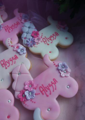 Biscotto decorato segnaposto