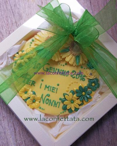 bomboniere-biscotto-rotondo-giallo-fiori