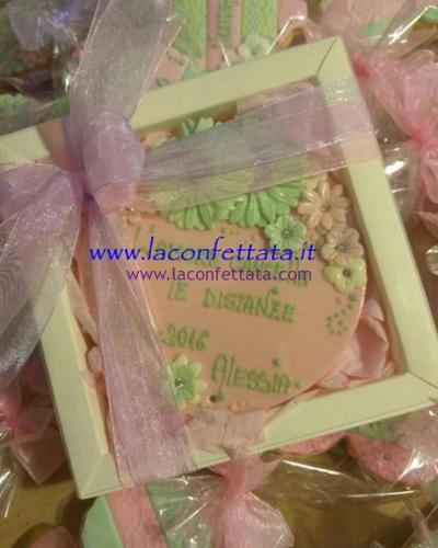bomboniere-biscotto-rotondo-rosa-fiori-verdi